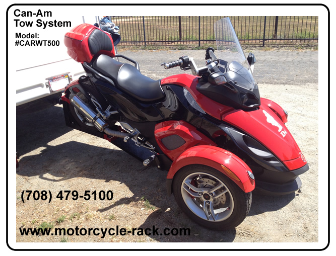 Can-Am Spyder Towing