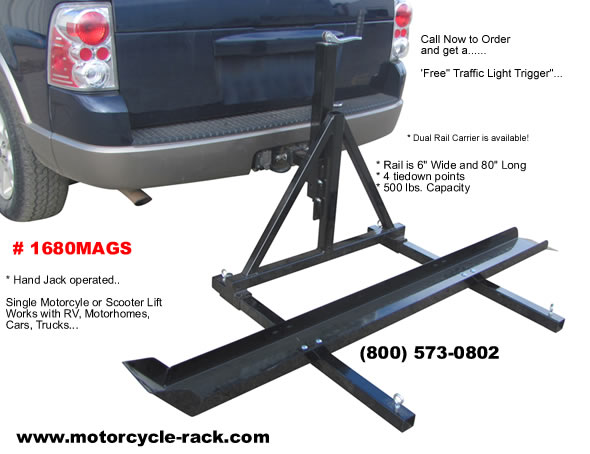 Motorcycle Carrier, RV Motorcycle