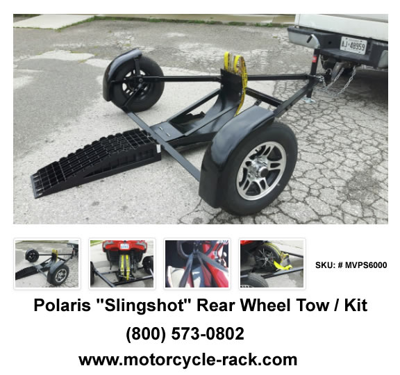 Polaris Slingshot rear wheel Towing